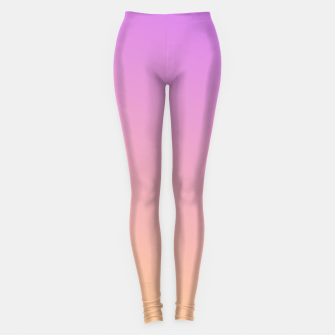 Thumbnail image of Nude to Pink Ambient Leggings, Live Heroes