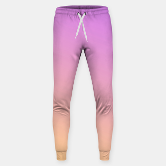 Miniatur Nude to Pink Ambient Cotton sweatpants, Live Heroes