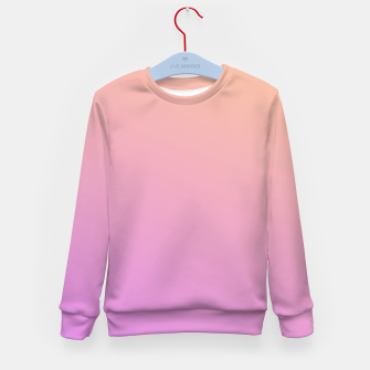 Thumbnail image of Nude to Pink Ambient Kid's sweater, Live Heroes