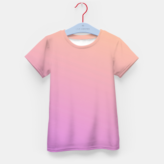 Miniatur Nude to Pink Ambient Kid's t-shirt, Live Heroes
