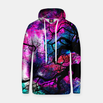 Starfield Tree Cotton hoodie thumbnail image