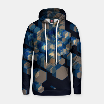Thumbnail image of 3D Hexagon BG XI Cotton hoodie, Live Heroes