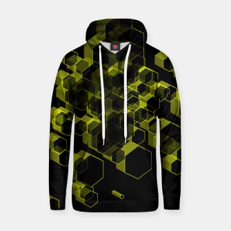 Thumbnail image of 3D Hexagon BG X Cotton hoodie, Live Heroes