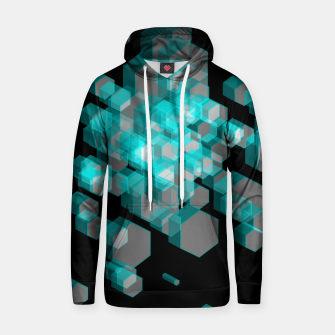Thumbnail image of 3D Hexagon BG XIII Cotton hoodie, Live Heroes