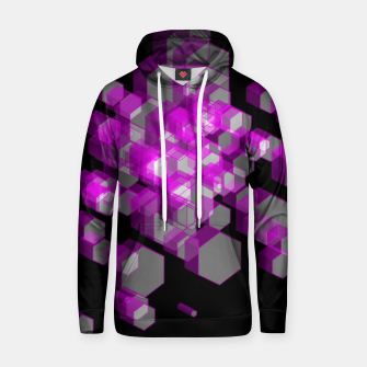 Thumbnail image of 3D Hexagon BG XX Cotton hoodie, Live Heroes
