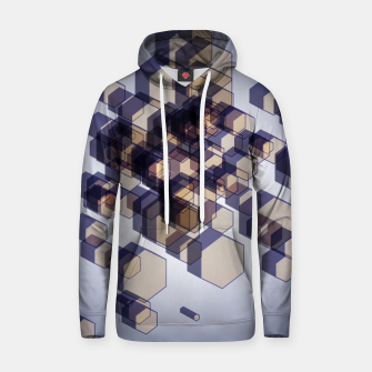 Thumbnail image of 3D Hexagon BG XV Cotton hoodie, Live Heroes