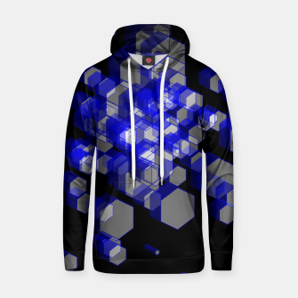 Thumbnail image of 3D Hexagon BG XVI Cotton hoodie, Live Heroes