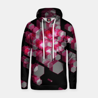 Thumbnail image of 3D Hexagon BG XIX Cotton hoodie, Live Heroes
