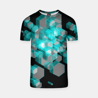 Thumbnail image of 3D Hexagon BG XIII T-shirt, Live Heroes