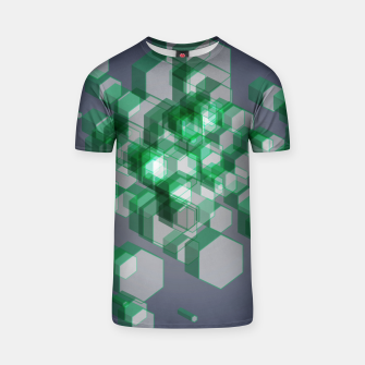 Thumbnail image of 3D Hexagon BG XII T-shirt, Live Heroes