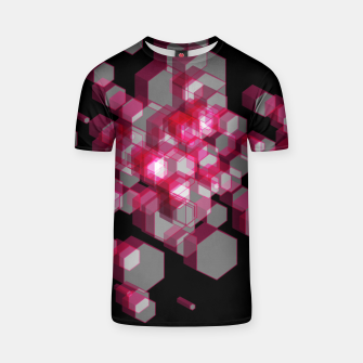 Thumbnail image of 3D Hexagon BG XIX T-shirt, Live Heroes