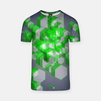 Thumbnail image of 3D Hexagon BG XVII T-shirt, Live Heroes