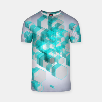 Thumbnail image of 3D Hexagon BG XVIII T-shirt, Live Heroes