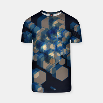Thumbnail image of 3D Hexagon BG XI T-shirt, Live Heroes