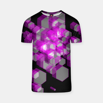Thumbnail image of 3D Hexagon BG XX T-shirt, Live Heroes