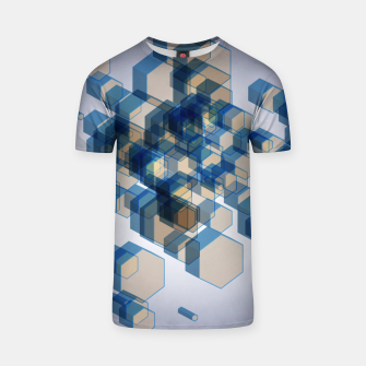 Thumbnail image of 3D Hexagon BG XIV T-shirt, Live Heroes