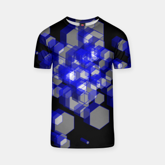 Thumbnail image of 3D Hexagon BG XVI T-shirt, Live Heroes