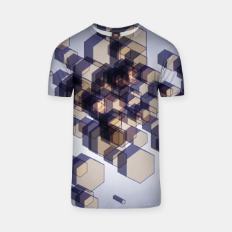 Thumbnail image of 3D Hexagon BG XV T-shirt, Live Heroes