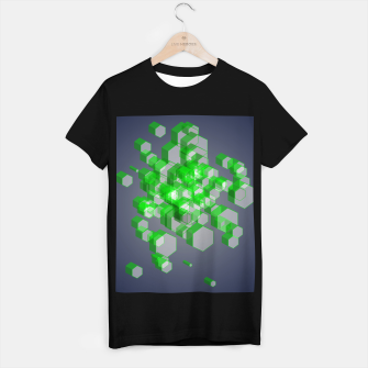 Thumbnail image of 3D Hexagon BG XVII T-shirt regular, Live Heroes