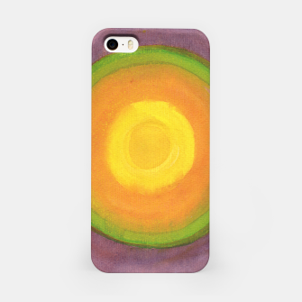 Miniatur Sun above purple Sky  iPhone Case, Live Heroes