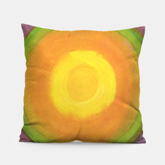 Miniatur Sun above purple Sky  Pillow, Live Heroes