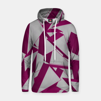 Thumbnail image of 3D Broken Glass VIII Cotton hoodie, Live Heroes