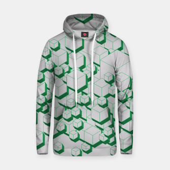Miniatur 3D Futuristic Cubes XIII Cotton hoodie, Live Heroes