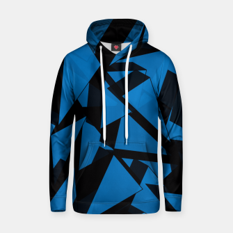 Thumbnail image of 3D Broken Glass III Cotton hoodie, Live Heroes