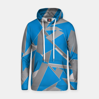 Thumbnail image of 3D Broken Glass IV Cotton hoodie, Live Heroes