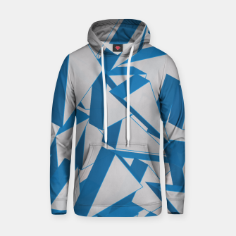 Thumbnail image of 3D Broken Glass V Cotton hoodie, Live Heroes