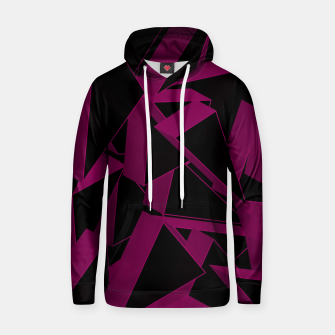 Thumbnail image of 3D Broken Glass VII Cotton hoodie, Live Heroes