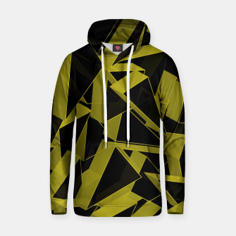 Thumbnail image of 3D Broken Glass II Cotton hoodie, Live Heroes