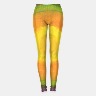 Miniatur Sun above purple Sky  Leggings, Live Heroes