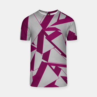 Thumbnail image of 3D Broken Glass VIII T-shirt, Live Heroes