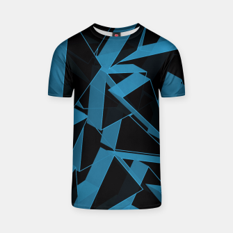Thumbnail image of 3D Broken Glass  T-shirt, Live Heroes