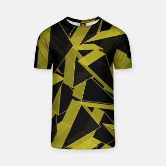 Thumbnail image of 3D Broken Glass II T-shirt, Live Heroes