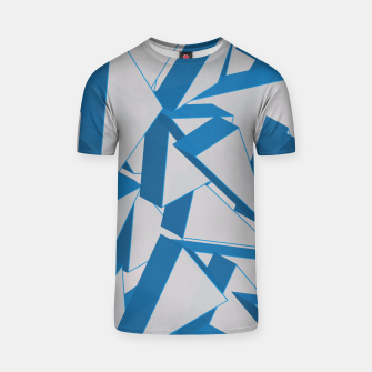 Thumbnail image of 3D Broken Glass V T-shirt, Live Heroes