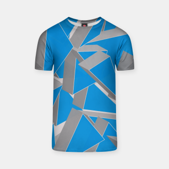 Thumbnail image of 3D Broken Glass IV T-shirt, Live Heroes