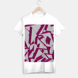 Thumbnail image of 3D Broken Glass VIII T-shirt regular, Live Heroes