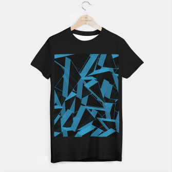 Thumbnail image of 3D Broken Glass  T-shirt regular, Live Heroes