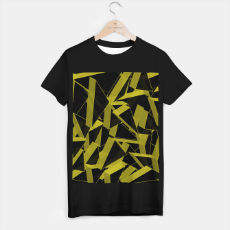 Thumbnail image of 3D Broken Glass II T-shirt regular, Live Heroes