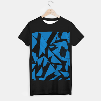 Thumbnail image of 3D Broken Glass III T-shirt regular, Live Heroes