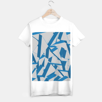 Thumbnail image of 3D Broken Glass V T-shirt regular, Live Heroes