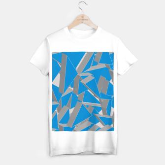 Thumbnail image of 3D Broken Glass IV T-shirt regular, Live Heroes