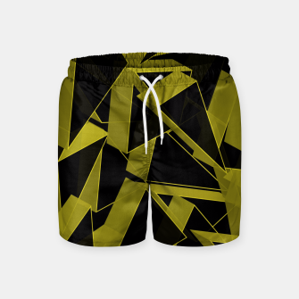 Thumbnail image of 3D Broken Glass II Swim Shorts, Live Heroes
