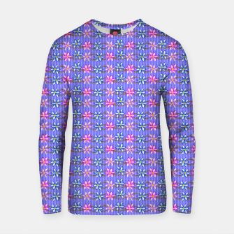 Thumbnail image of Ultra Violet Stripes with Flowers Cotton sweater, Live Heroes