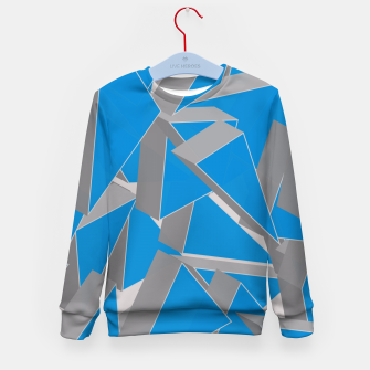 Thumbnail image of 3D Broken Glass IV Kid's sweater, Live Heroes