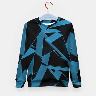 Thumbnail image of 3D Broken Glass  Kid's sweater, Live Heroes