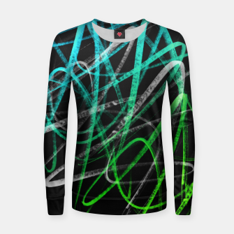 Thumbnail image of Wild Style - Handstyles and Modern Graffiti Art  Women sweater, Live Heroes