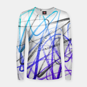 Thumbnail image of Cool Expressions - Handstyles and Modern Graffiti Art  Women sweater, Live Heroes